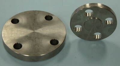 Titanium Gr5 Blind Flanges